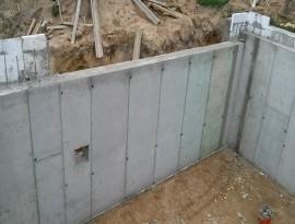 Pamatų betonavimas